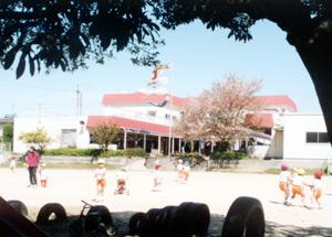 第二るんびに幼稚園 園舎全景