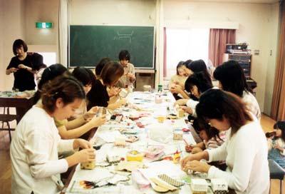 山口県私立幼稚園 PTA活動 お母さんの手芸サークル