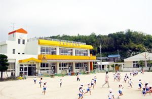 玉祖幼稚園 園舎全景