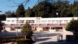 山口天使幼稚園 園舎全景