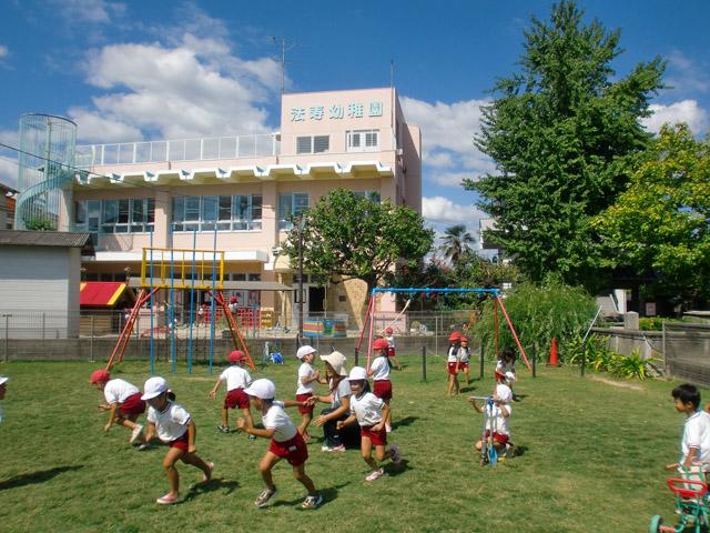 法寿幼稚園 園舎全景