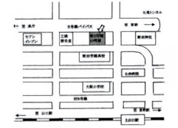 認定こども園 野田学園幼稚園 地図